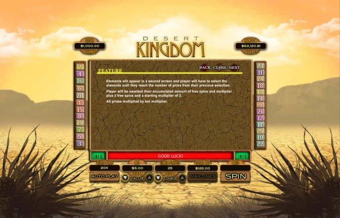 Desert Kingdom by No Deposit Casino Guide