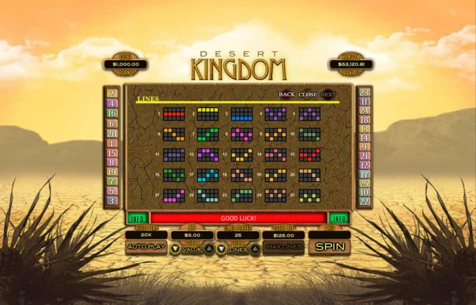 Desert Kingdom screenshot