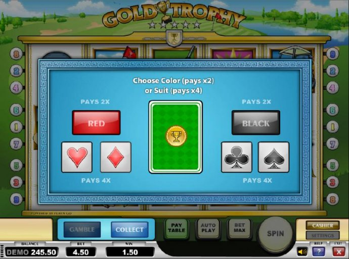 Gold Trophy by No Deposit Casino Guide