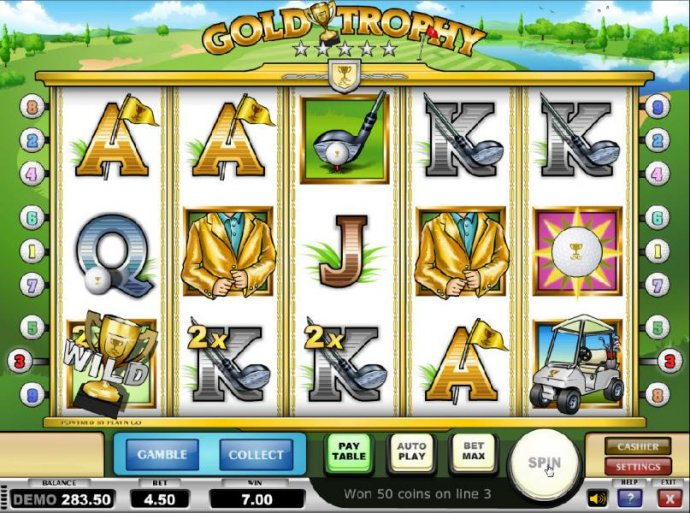 No Deposit Casino Guide - another example of a 2x multiplier triggering a modest payout