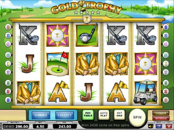 No Deposit Casino Guide - the free spins feature paid out a total jackpot of $243.00
