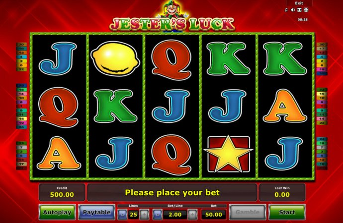 No Deposit Casino Guide image of Jester's Luck