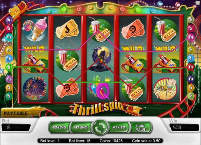 Thrill Spin by No Deposit Casino Guide