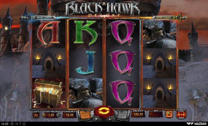 No Deposit Casino Guide image of Black Hawk Deluxe