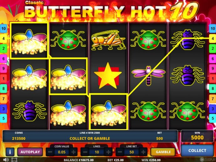 Images of Classic Butterfly Hot 10
