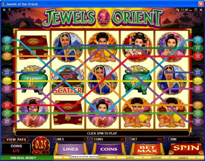 Jewels of the Orient by No Deposit Casino Guide
