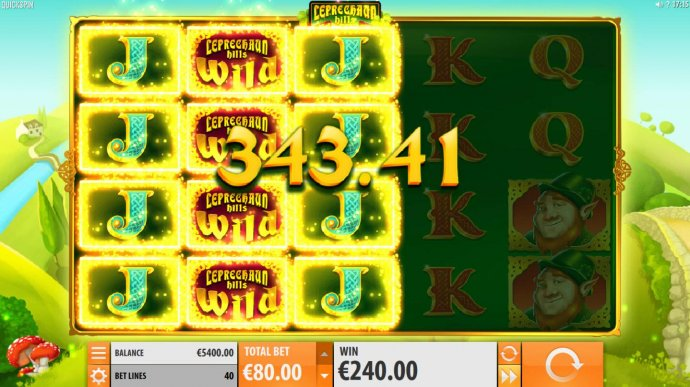 Lucky Respin feature leads to big win. - No Deposit Casino Guide