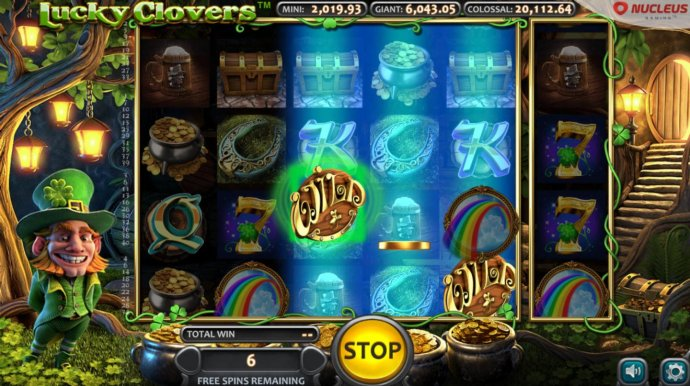 No Deposit Casino Guide image of Lucky Clovers