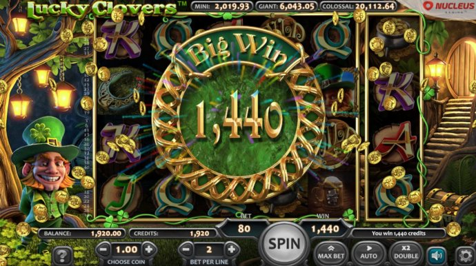 Total Free Games Payout 1440 Coins - No Deposit Casino Guide