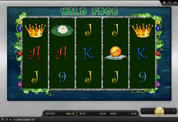 No Deposit Casino Guide image of Wild Frog