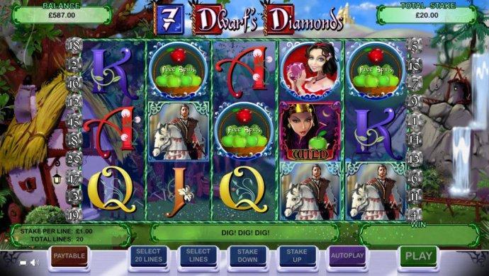 7 Dwarf's Diamonds screenshot
