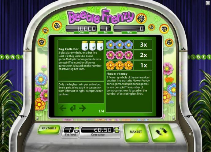 No Deposit Casino Guide image of Beetle Frenzy