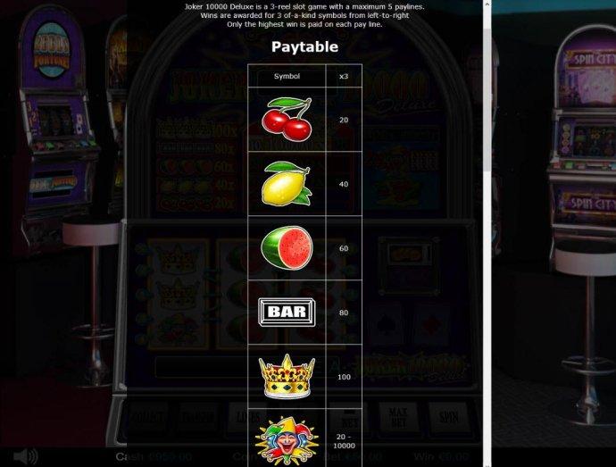 Joker 10000 Deluxe screenshot