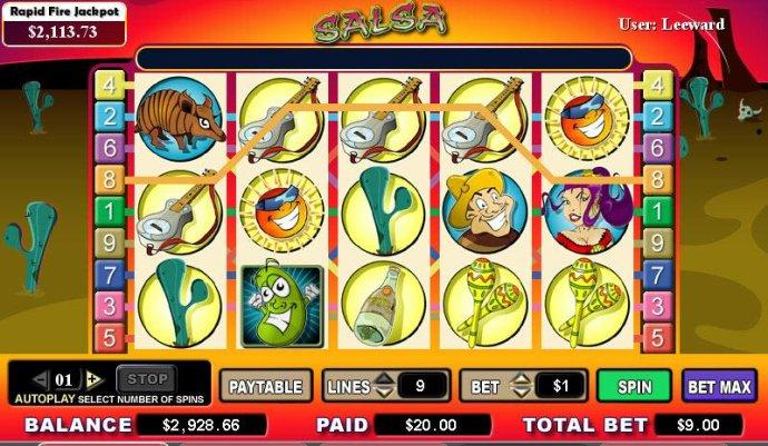 No Deposit Casino Guide image of Salsa