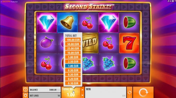 No Deposit Casino Guide image of Second Strike