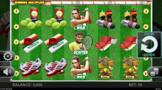 No Deposit Casino Guide image of Tennis Champion