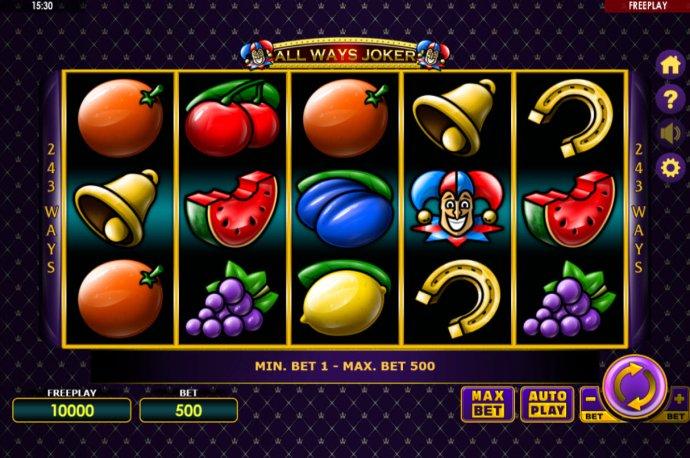 No Deposit Casino Guide image of All Ways Joker