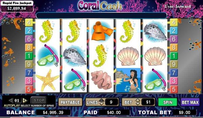 Coral Cash screenshot