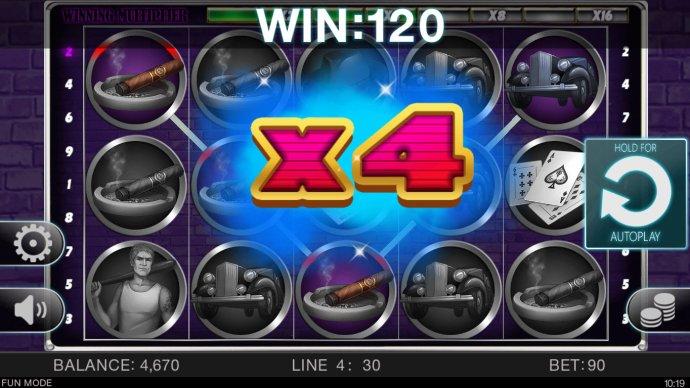 No Deposit Casino Guide - An x4 win multiplier awarded