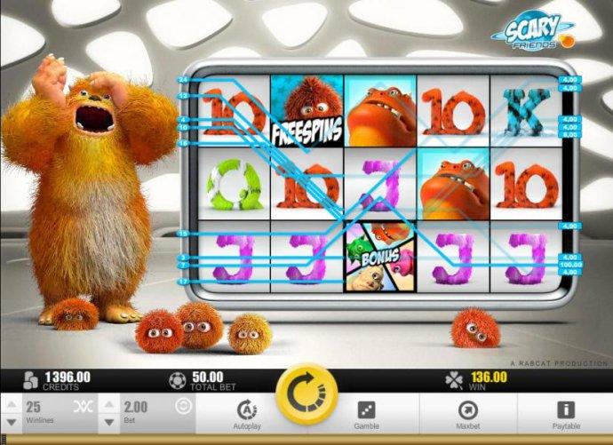 No Deposit Casino Guide - Multiple winning paylines triggers a big win!