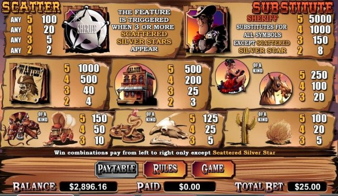 Silver Star by No Deposit Casino Guide