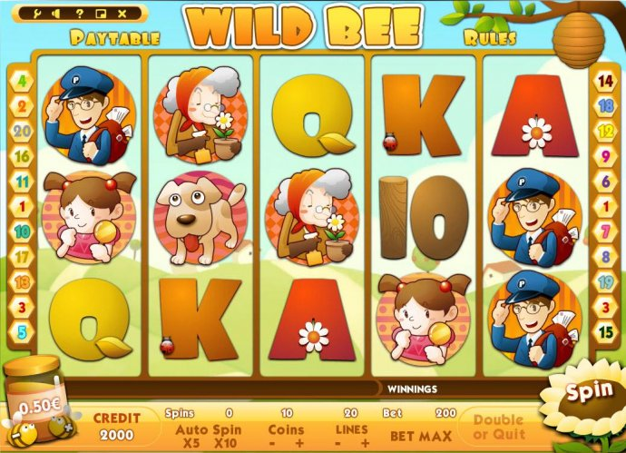 Wild Bee screenshot