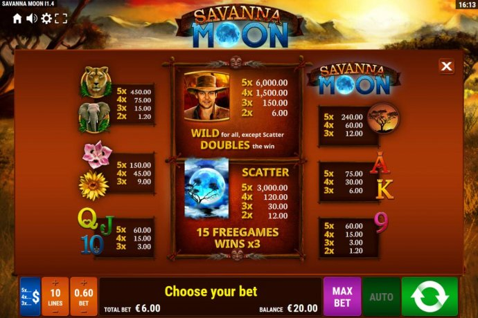 Images of Savanna Moon