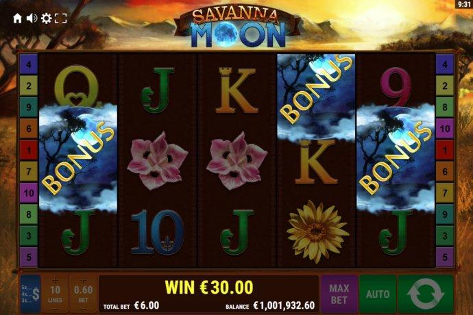 Savanna Moon by No Deposit Casino Guide
