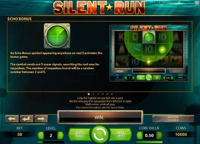 No Deposit Casino Guide - echo bonus feature rules