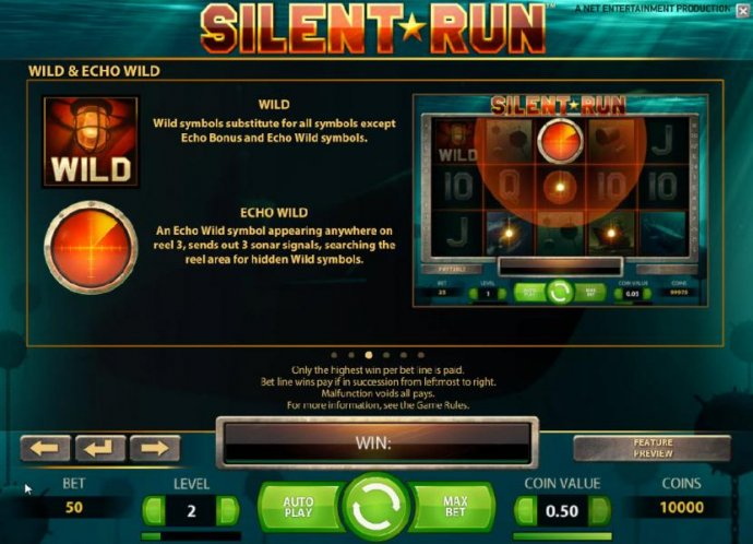 Images of Silent Run