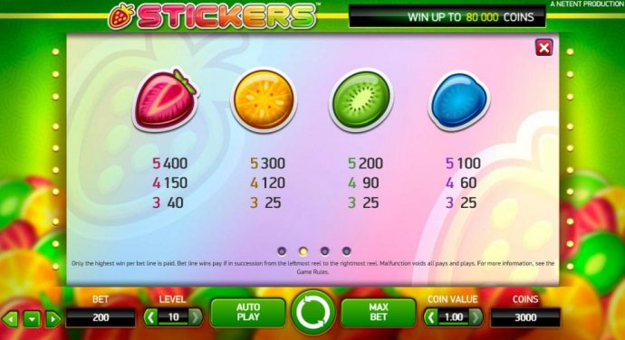No Deposit Casino Guide image of Stickers