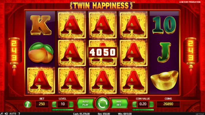 No Deposit Casino Guide image of Twin Happiness
