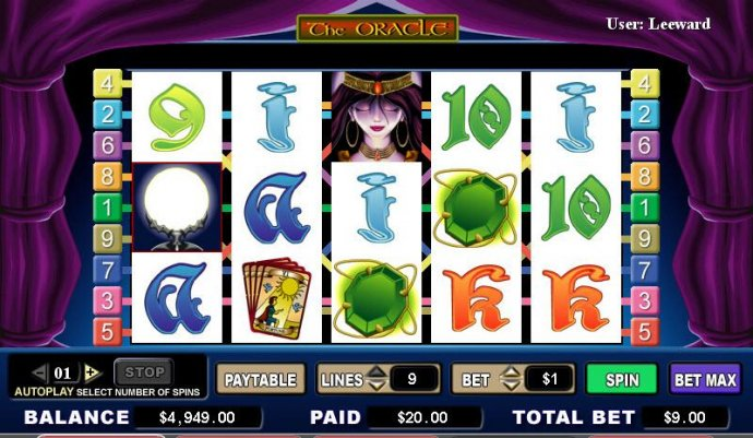 No Deposit Casino Guide image of The Oracle