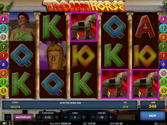 No Deposit Casino Guide image of Trojan Horse