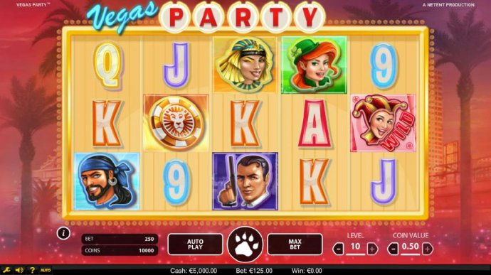 No Deposit Casino Guide image of Vegas Party