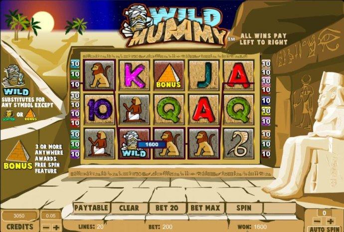 No Deposit Casino Guide image of Wild Mummy