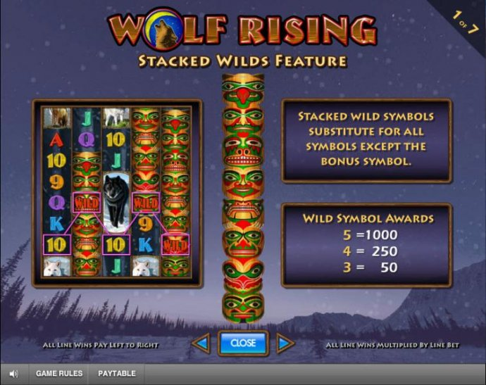 Wolf Rising by No Deposit Casino Guide