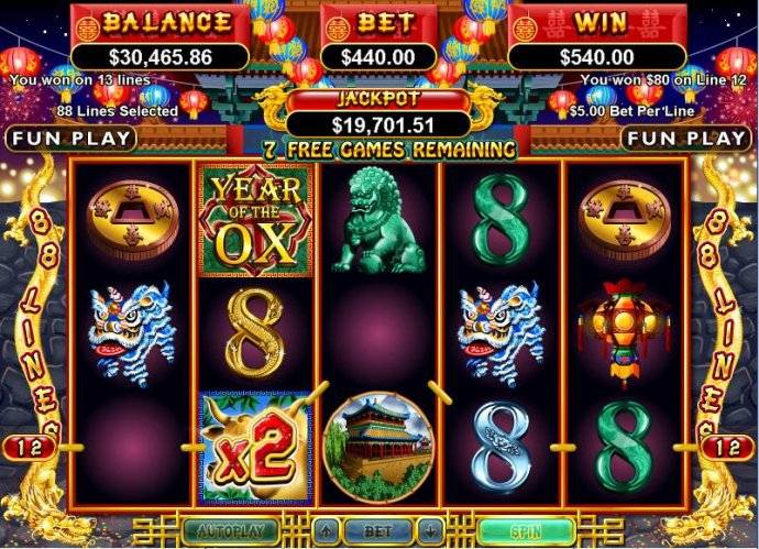 No Deposit Casino Guide image of Year of Fortune