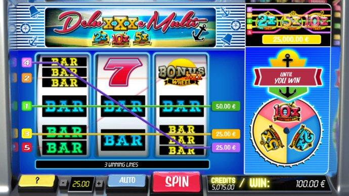No Deposit Casino Guide - Multiple winning paylines