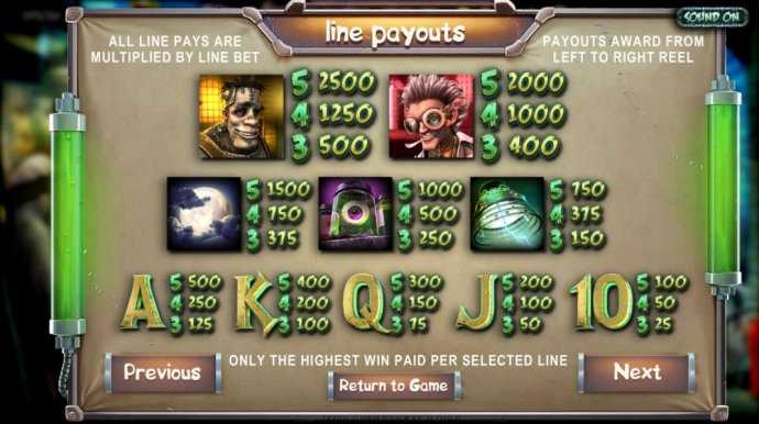 No Deposit Casino Guide - Slot game symbols paytable - All line pays are multiplied by line bet. Payouts award from left to right. Only the highest win paid per selected line.