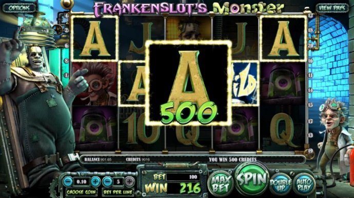 Frankenslot's Monster screenshot