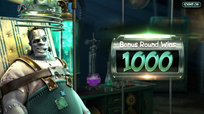 The bonus round pays out a total of 1000 coins for a super win! - No Deposit Casino Guide