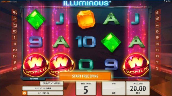 No Deposit Casino Guide image of Illuminous