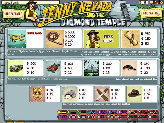 Jenny Nevada and the Diamond Temple screenshot
