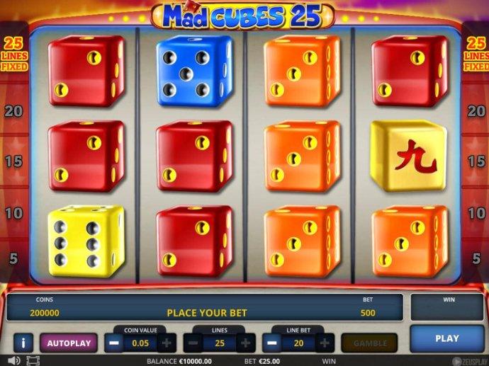 Mad Cubes 25 screenshot