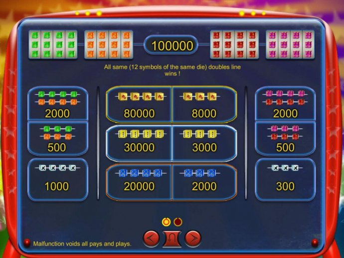 Mad Cubes 25 by No Deposit Casino Guide