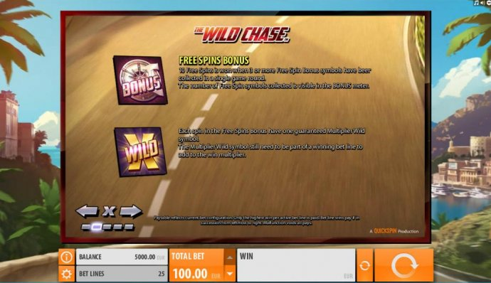 No Deposit Casino Guide image of The Wild Chase