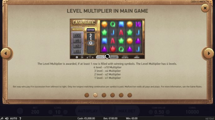 No Deposit Casino Guide - Level Multiplier in Free Spins