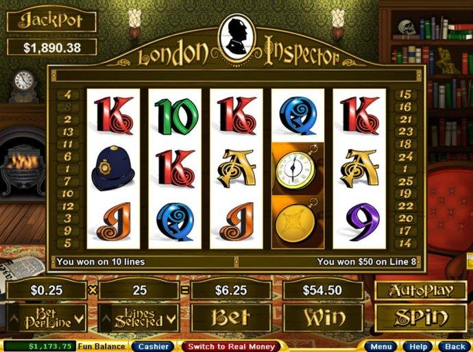 No Deposit Casino Guide image of London Inspector