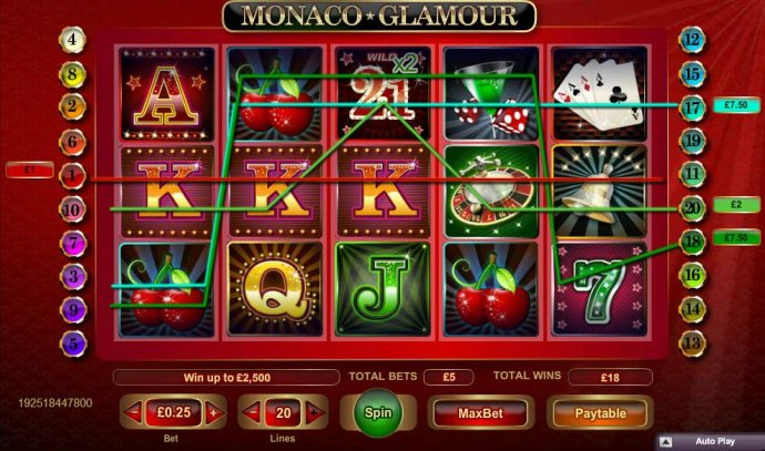 Monaco Glamour screenshot